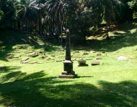 Bel Air Friedhof Seychellen