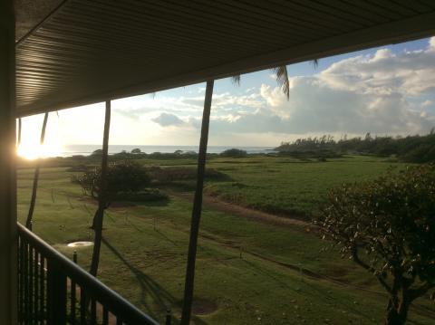 Veranda auf Kauai